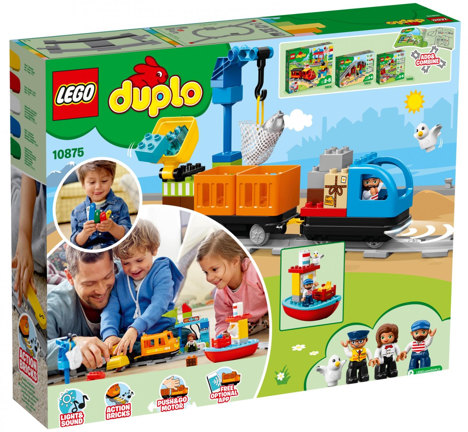 Lego Duplo 10875 Pociąg Towarowy Super Oferty Na Klocki Lego