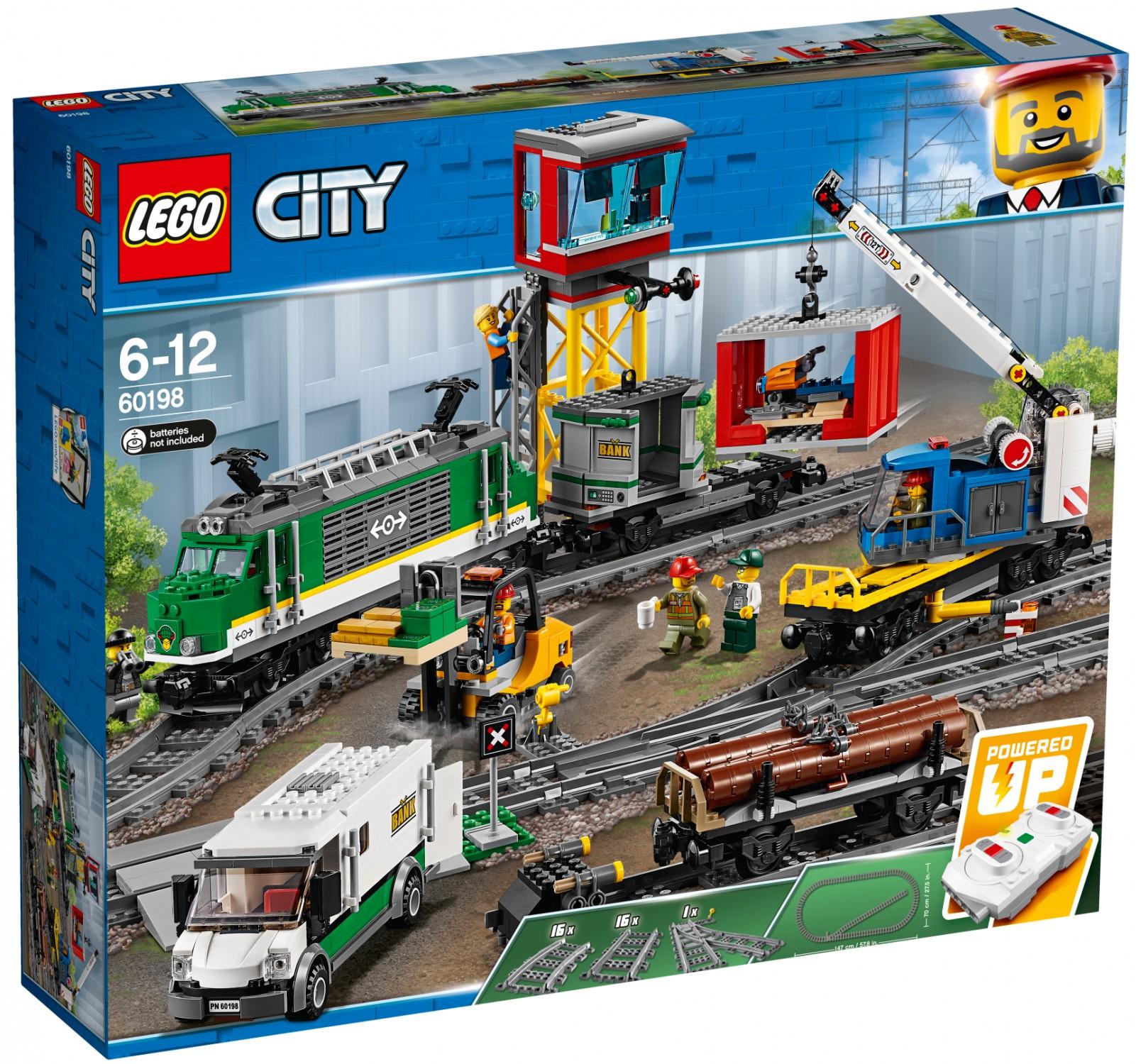 Lego City 60198 Pociąg Towarowy Super Oferty Na Klocki Lego