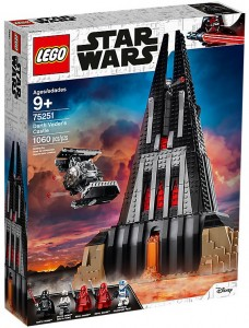 LEGO STAR WARS 75251 Zamek Dartha Vadera