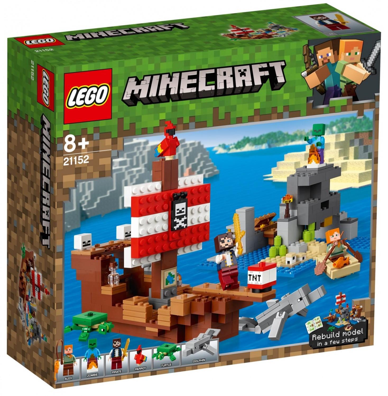 Lego Minecaft 21152 Przygoda Na Statku Pirackim Super Oferty Na