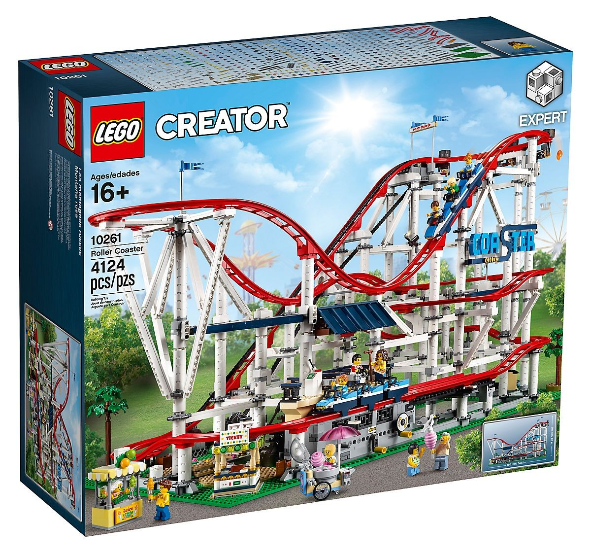 Lego Creator Exclusive 10261 Kolejka Górska Super Oferty Na Klocki Lego
