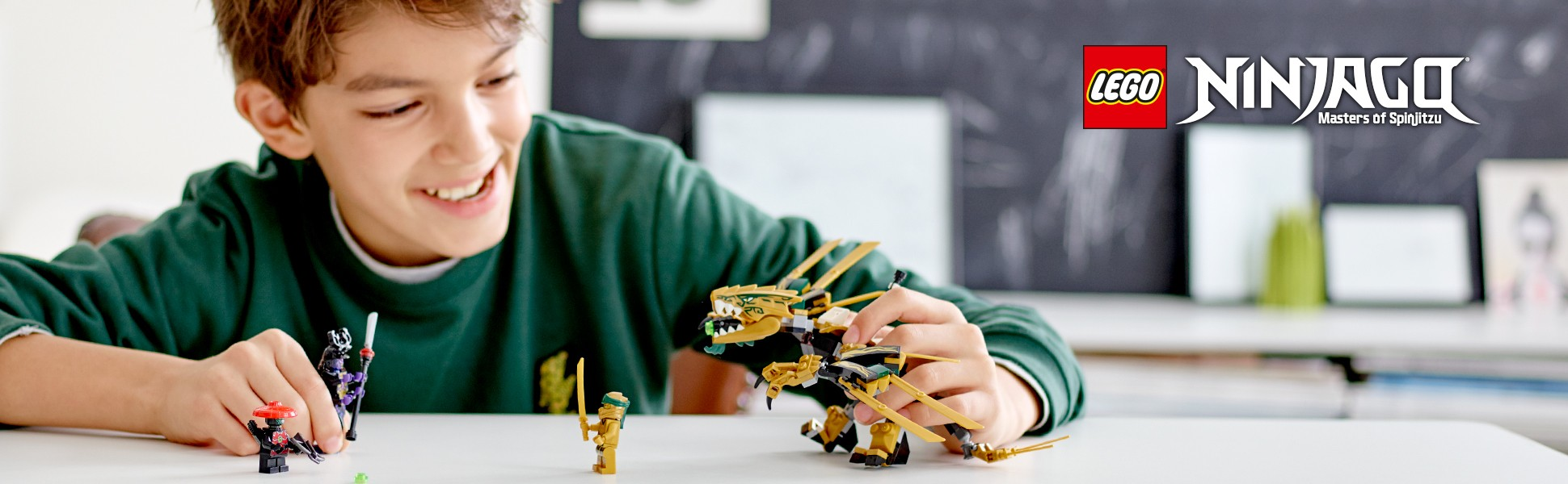 Lego Ninjago 70666 Złoty Smok Super Oferty Na Klocki Lego