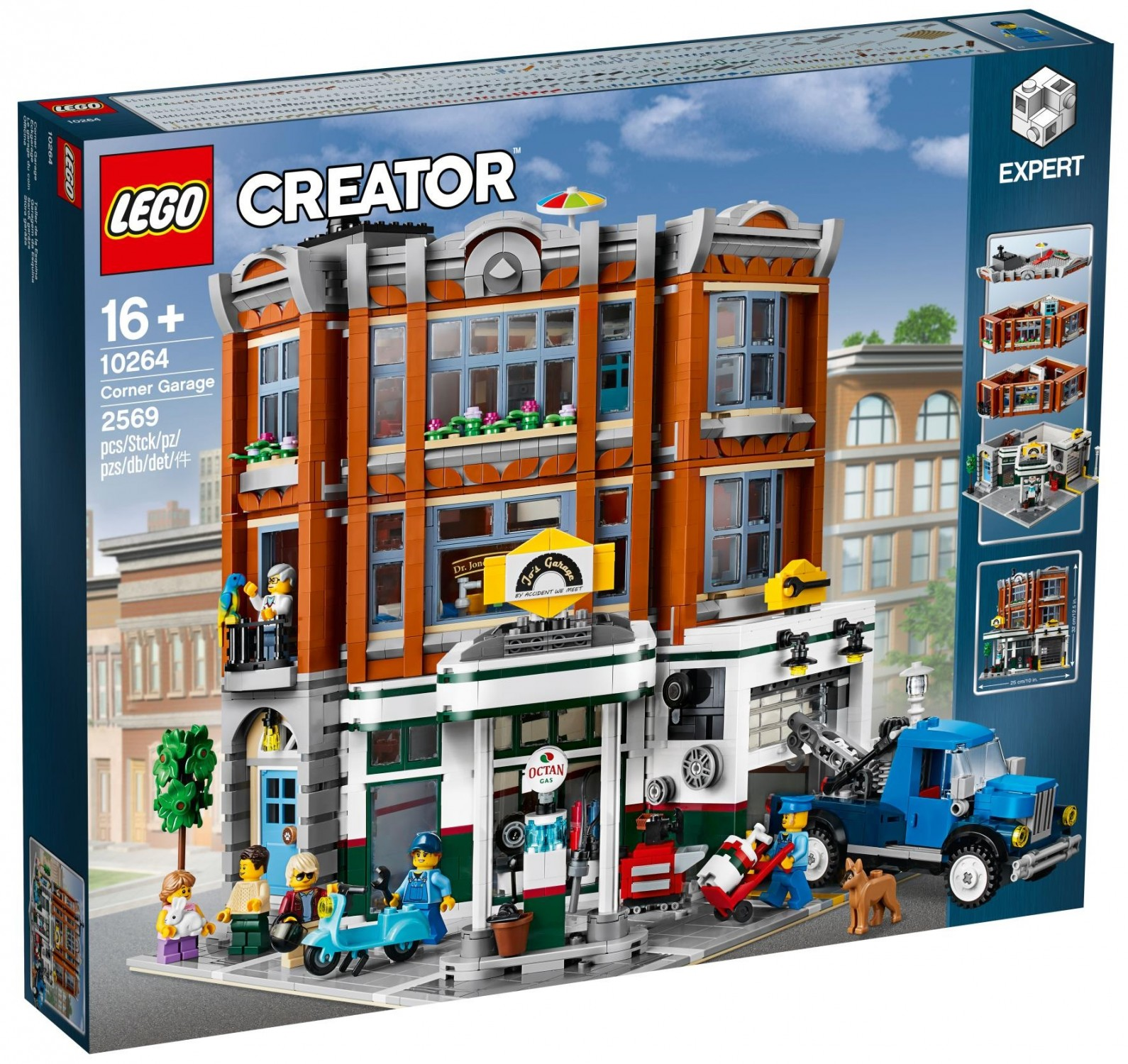 Lego Creator Exclusive 10264 Warsztat Na Rogu Super Oferty Na Klocki