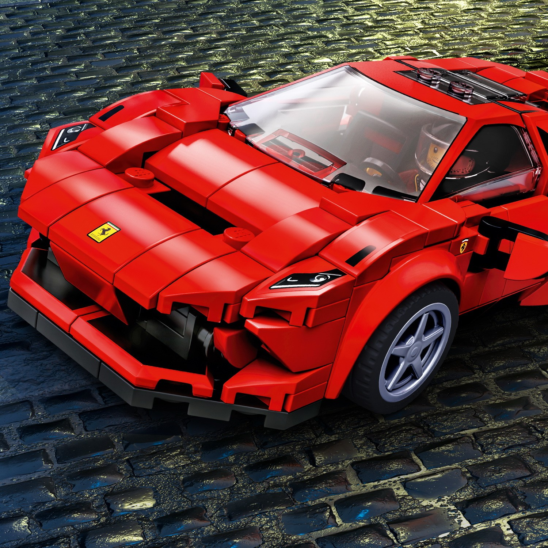 LEGO SPEED CHAMPIIONS 76895 Ferrari F8 Tributo Super ...