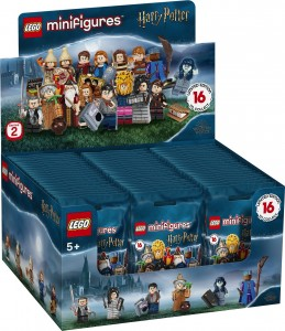 LEGO MINIFIGURES 71028 Harry Potter™ — seria 2 - CAŁY BOX 60 szt.